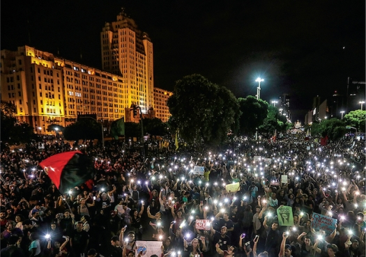 Brazilians protest cuts to science
