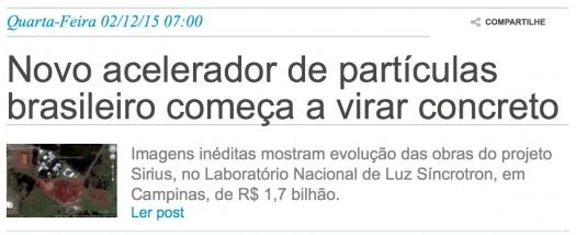 Novo acelerador de partículas brasileiro começa a virar concreto