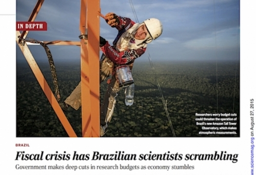 Fiscal crisis has Brazilian scientists scrambling