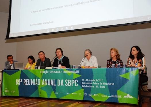 SBPC declara apoio às Diretas Já