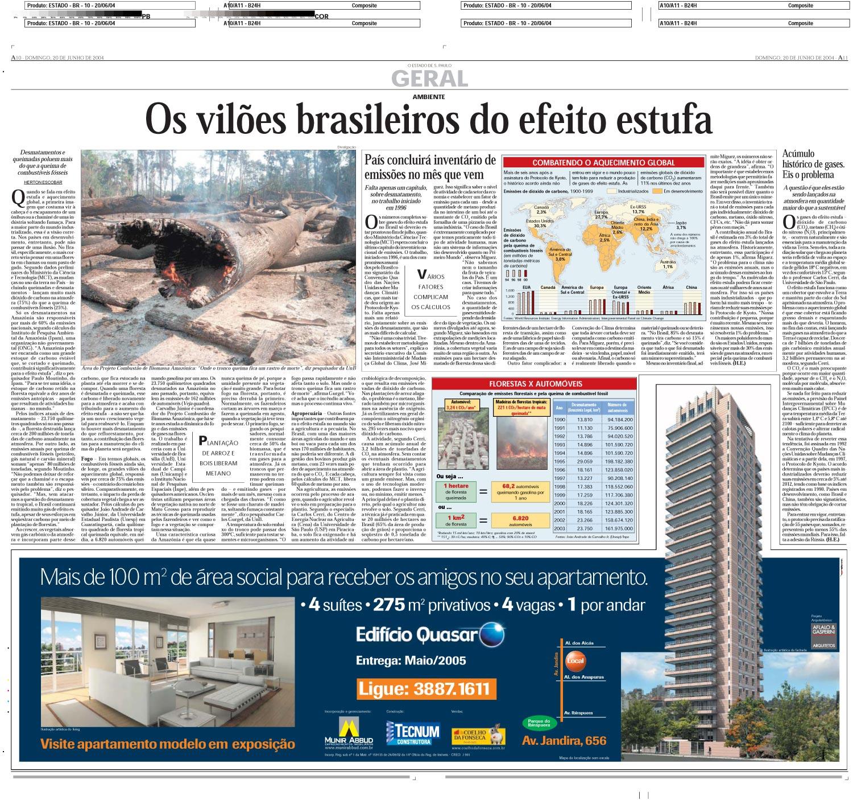 Os vilões brasileiros do efeito estufa