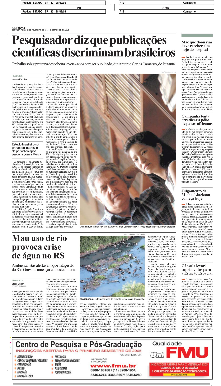 Pesquisador diz que publicações científicas discriminam brasileiros