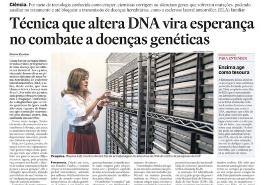 Técnica que altera DNA vira esperança na luta contra doenças genéticas