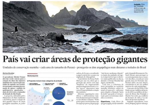 País vai criar áreas de proteção gigantes