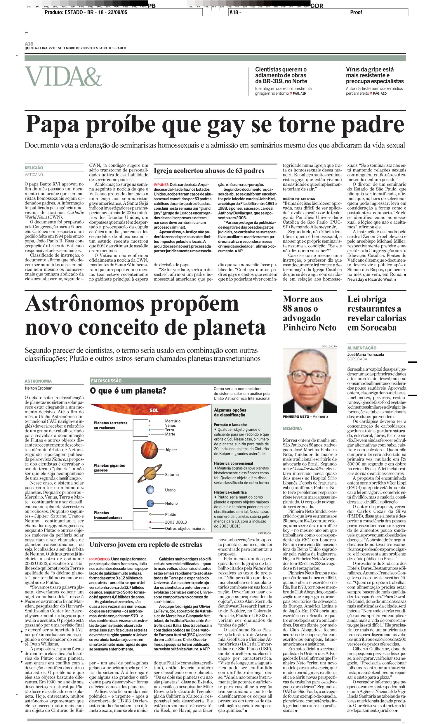 Astrônomos propõem novo conceito de planeta