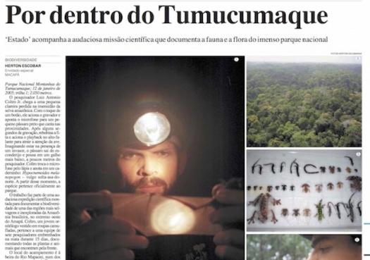 Por dentro do Tumucumaque