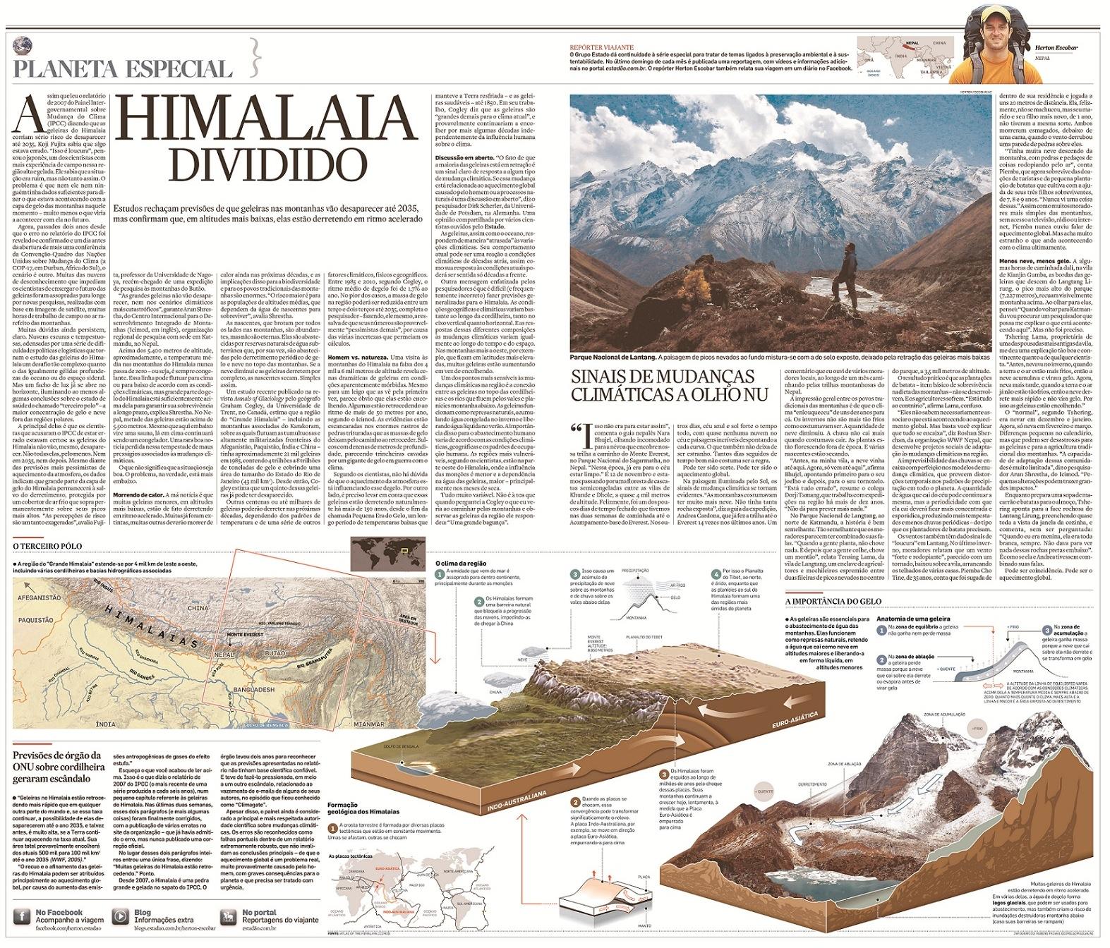 Repórter Viajante: Himalaia Dividido - O aquecimento global e as geleiras