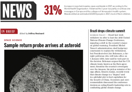 Brazil drops climate summit