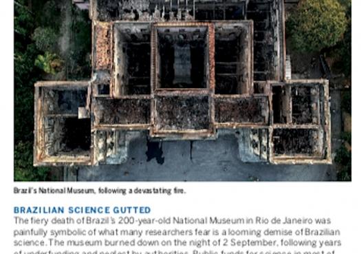 Brazilian science gutted