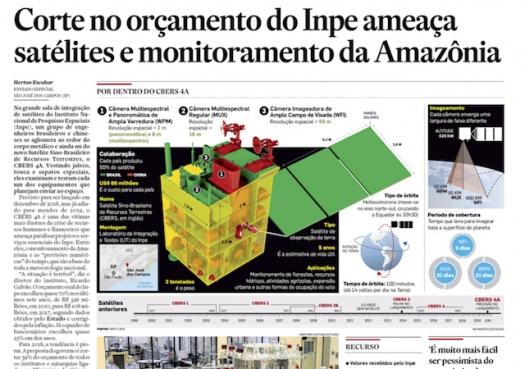 Crise no INPE ameaça satélites e monitoramento da Amazônia