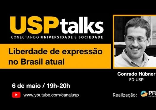 USP Talks discute liberdade de expressão no Brasil atual