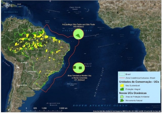 Brasil cria áreas protegidas marinhas gigantes. Veja os mapas