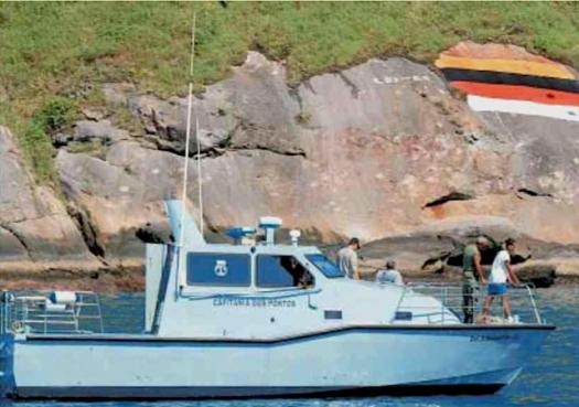 Marinha diz proteger Alcatrazes
