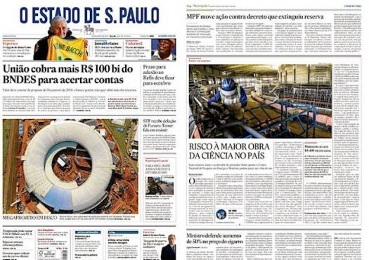 Risco à maior obra da ciência no Brasil