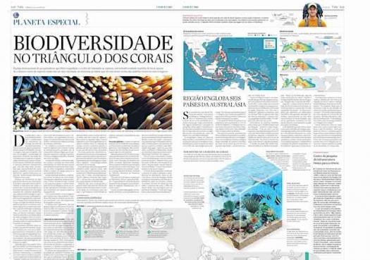 Repórter Viajante: Biodiversidade no Triângulo dos Corais