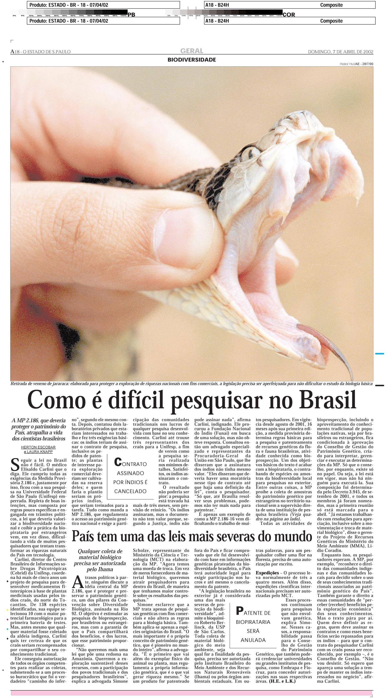 Como é difícil pesquisar no Brasil