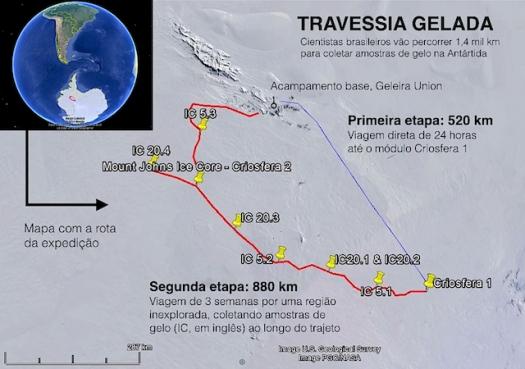 Expedição brasileira na Antártida termina antes do previsto