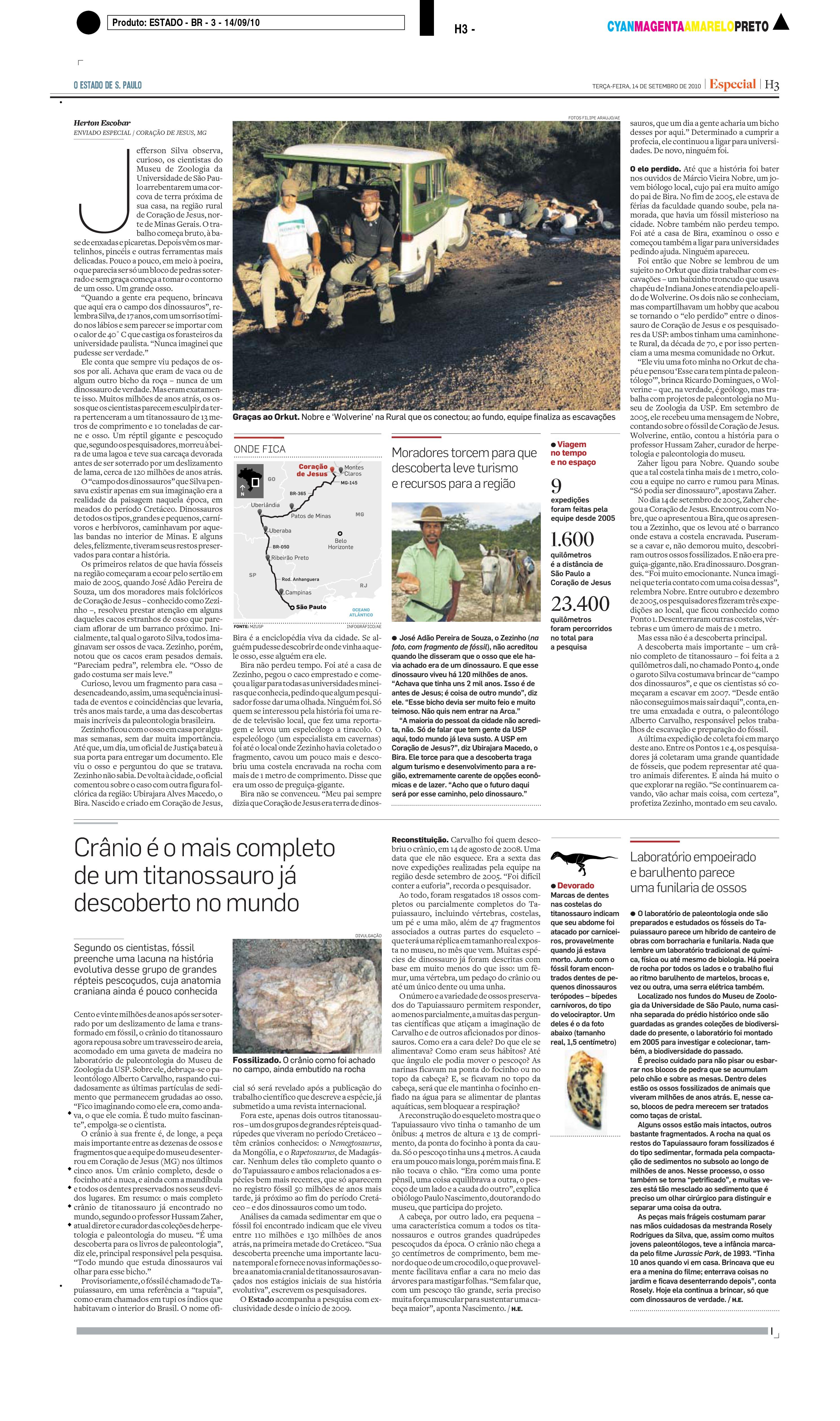 Dinossauros do Brasil - Caderno Especial (pag. 3)